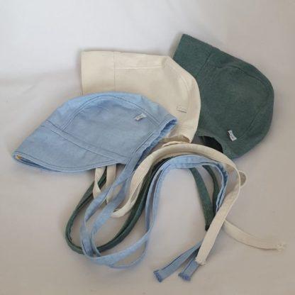 Bonnet in zijde