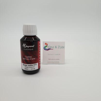Beige sable 815, Dupont acid dyes, Kleur en Zijde (2)