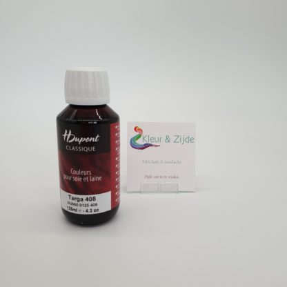 Targa 408, Dupont acid dyes, Kleur en Zijde (2)