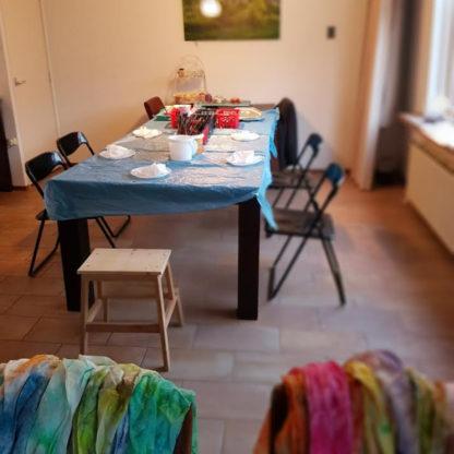 Workshop zijdeschilderen