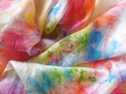 Regenboog zijden doek, categorie