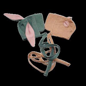 Bonnet-met-oortjes-zijde-multikleuren