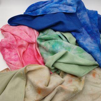 Wol en zijdem deken omslagdoek