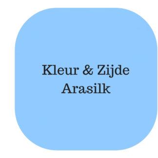 Arasilk, blue pastel