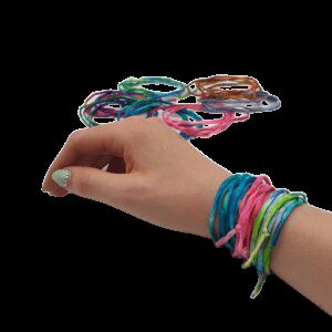 Zijden armbandjes (Zonnestraaltjes)