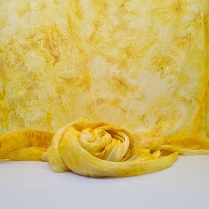 Zonneschijn, zijden speeldoek, 250x 90 cm